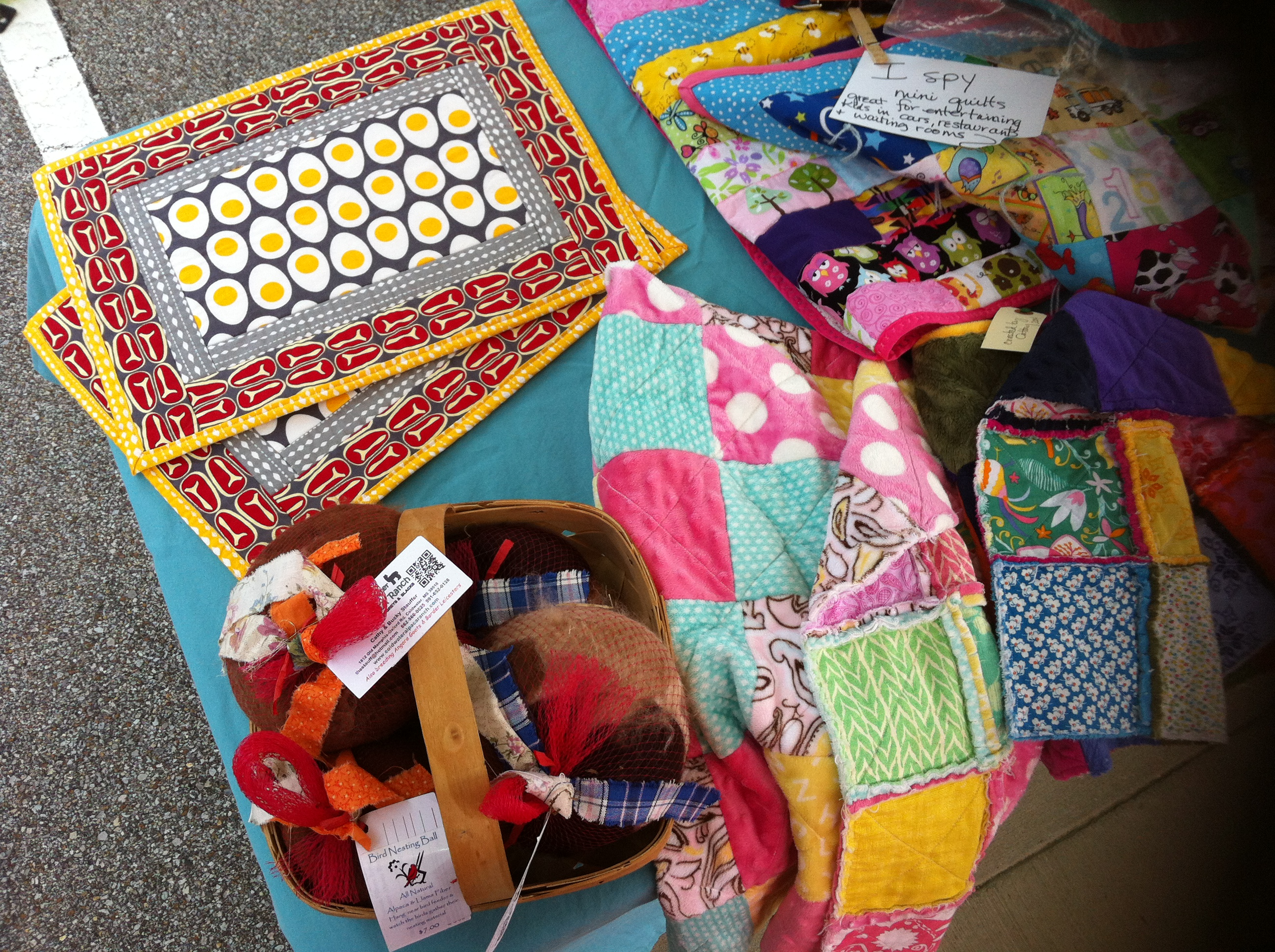 Collierville Farmers Market Quilts